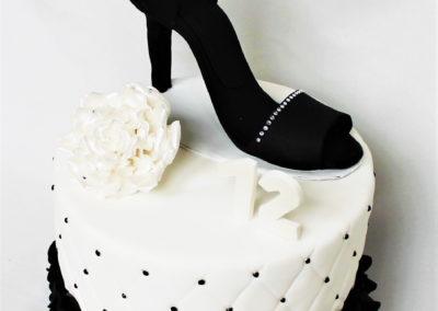 gâteau adulte jade cake femme escarpin sac chanel(39)