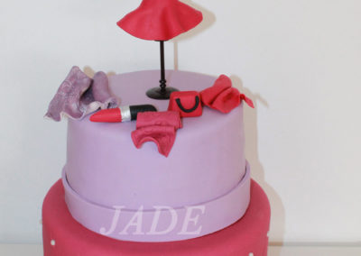 gâteau adulte jade cake mode couture beauté (67)