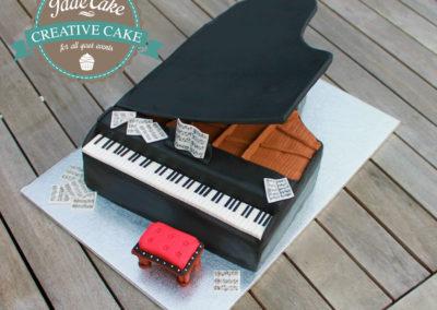 gâteau adulte jade cake piano(36)