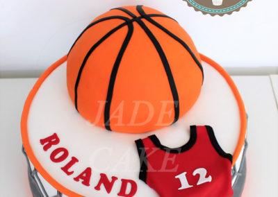 gâteau adulte jade cake sport basket ball(61)