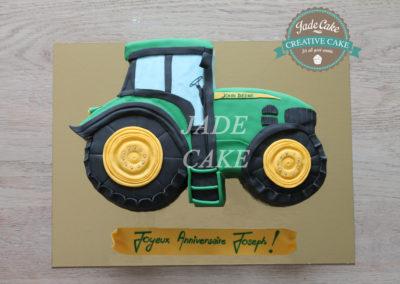 gâteau adulte jade cake tracteur(88)