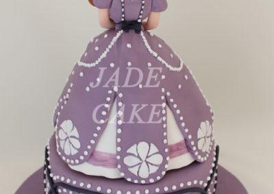 gâteau anniversaire fête fille jade cake (13)