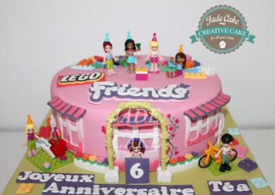 gâteau anniversaire fête fille jade cake (153)