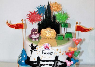 gâteau anniversaire fête fille jade cake (169)