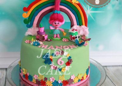 gâteau anniversaire fête fille jade cake (170)