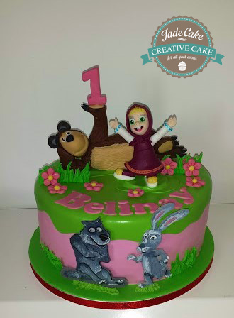 gâteau anniversaire fête fille jade cake (18)