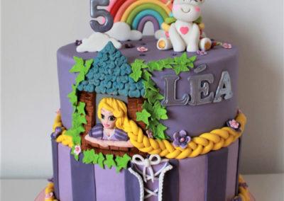 gâteau anniversaire fête fille jade cake (187)