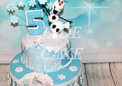 gâteau anniversaire fête fille jade cake (57)