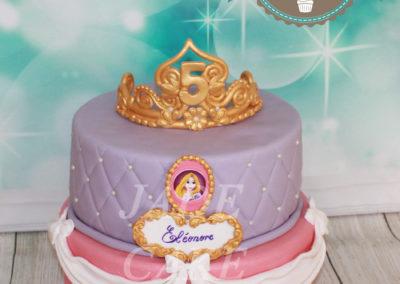 gâteau anniversaire fête fille jade cake (63)