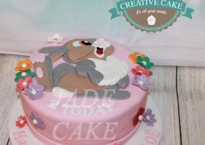 gâteau anniversaire fête fille jade cake (68)