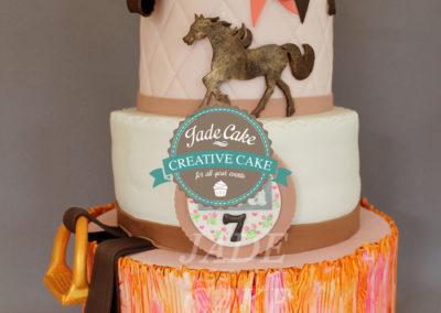 gâteau anniversaire fête fille jade cake (70)
