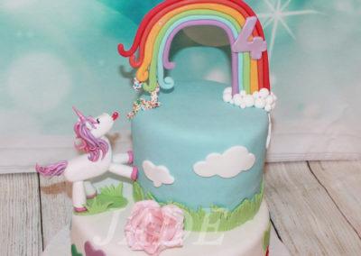 gâteau anniversaire fête fille jade cake (78)
