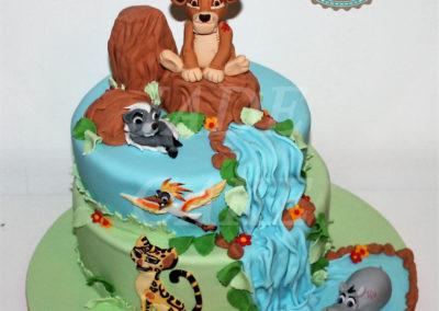 gâteau anniversaire fête fille jade cake (91)