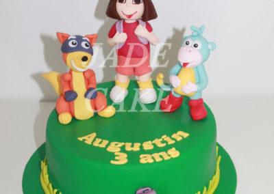gâteau anniversaire fête fille jade cake (97)