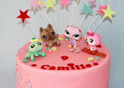 gâteau anniversaire fête fille jade cake (98)