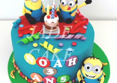 gâteau anniversaire fête garçon jade cake (9)