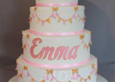 gâteau baby shower naissance communion baptême fête anniversaire bébé enfant jade cake brabant wallon macaron rose (16)