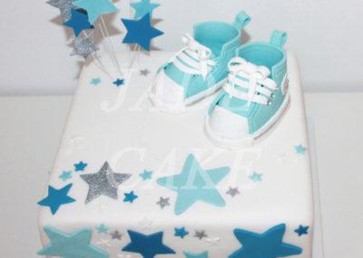 gâteau baby shower naissance communion baptême fête anniversaire bébé enfant jade cake brabant wallon macaron rose (17)