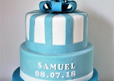gâteau baby shower naissance communion baptême fête anniversaire bébé enfant jade cake brabant wallon macaron rose (18)