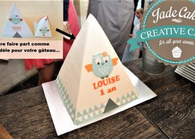 gâteau baby shower naissance communion baptême fête anniversaire bébé enfant jade cake brabant wallon macaron rose (20)