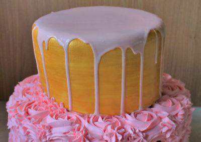 gâteau baby shower naissance communion baptême fête anniversaire bébé enfant jade cake brabant wallon macaron rose (3)