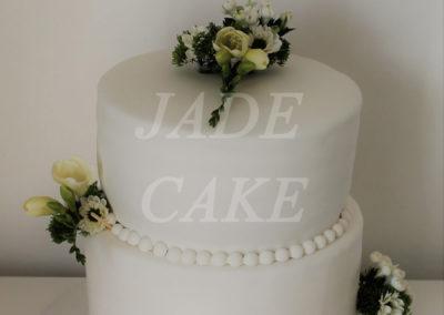 gâteau mariage wedding cake anniversaire fête jadecake pièce montée brabant wallon (14)