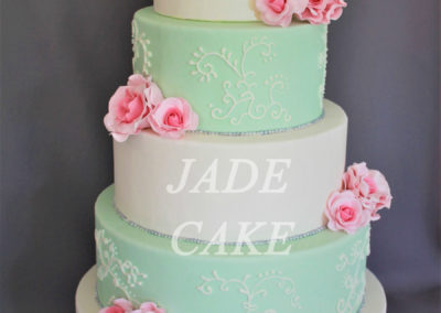 gâteau mariage wedding cake anniversaire fête jadecake pièce montée brabant wallon (24)