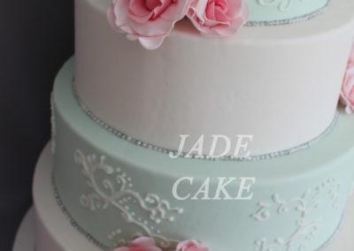 gâteau mariage wedding cake anniversaire fête jadecake pièce montée brabant wallon (25)