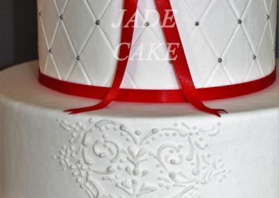 gâteau mariage wedding cake anniversaire fête jadecake pièce montée brabant wallon (27)