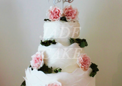 gâteau mariage wedding cake anniversaire fête jadecake pièce montée brabant wallon (36)