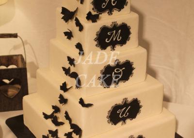 gâteau mariage wedding cake anniversaire fête jadecake pièce montée brabant wallon (48)