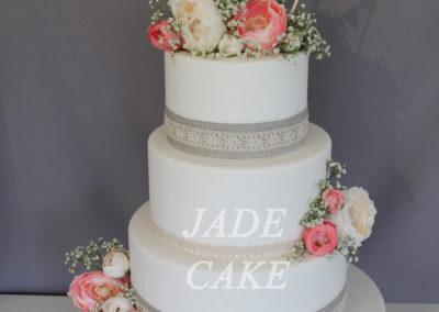 gâteau mariage wedding cake anniversaire fête jadecake pièce montée brabant wallon (54)
