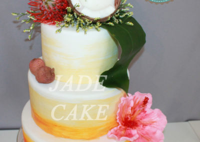 gâteau mariage wedding cake anniversaire fête jadecake pièce montée brabant wallon (56)