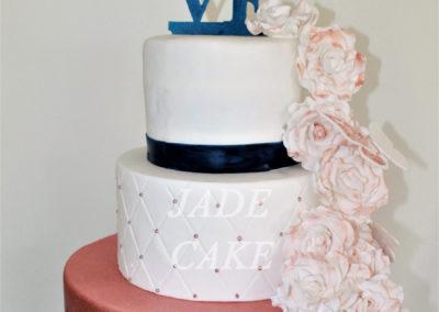 gâteau mariage wedding cake anniversaire fête jadecake pièce montée brabant wallon (58)