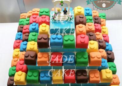 gâteau mariage wedding cake anniversaire fête jadecake pièce montée brabant wallon (6)