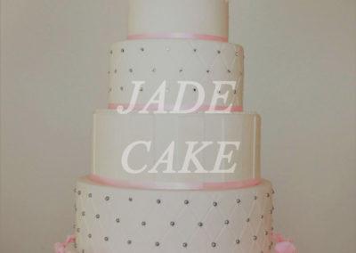 gâteau mariage wedding cake anniversaire fête jadecake pièce montée brabant wallon (69)
