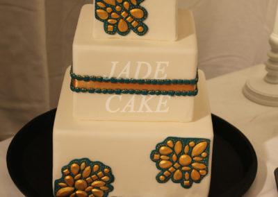 gâteau mariage wedding cake anniversaire fête jadecake pièce montée brabant wallon (73)