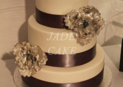 gâteau mariage wedding cake anniversaire fête jadecake pièce montée brabant wallon (74)