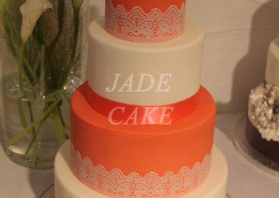 gâteau mariage wedding cake anniversaire fête jadecake pièce montée brabant wallon (75)