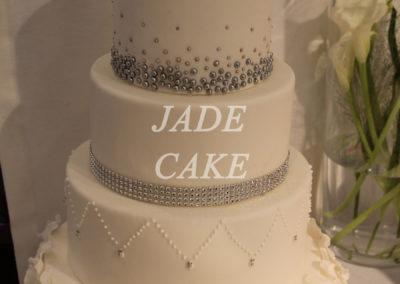 gâteau mariage wedding cake anniversaire fête jadecake pièce montée brabant wallon (76)
