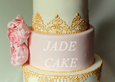 gâteau mariage wedding cake anniversaire fête jadecake pièce montée brabant wallon (78)