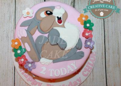 gâteau personnalisé fille bébé anniversaire fête jade cake brabant wallon pâte à sucre (14)