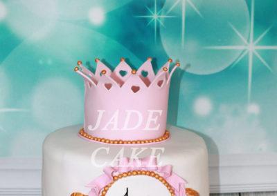 gâteau personnalisé fille bébé anniversaire fête jade cake brabant wallon pâte à sucre (15)