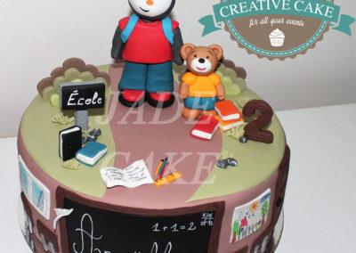 gâteau personnalisé fille bébé anniversaire fête jade cake brabant wallon pâte à sucre (16)
