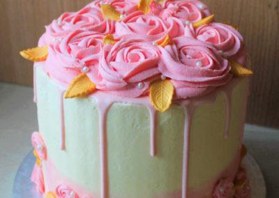 gâteau personnalisé fille bébé anniversaire fête jade cake brabant wallon pâte à sucre (19)