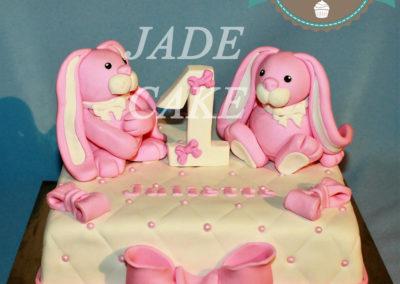 gâteau personnalisé fille bébé anniversaire fête jade cake brabant wallon pâte à sucre (21)