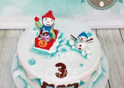 gâteau personnalisé fille bébé anniversaire fête jade cake brabant wallon pâte à sucre (24)