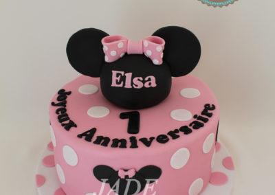 gâteau personnalisé fille bébé anniversaire fête jade cake brabant wallon pâte à sucre (29)