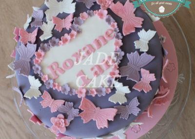 gâteau personnalisé fille bébé anniversaire fête jade cake brabant wallon pâte à sucre (33)