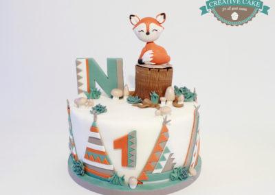 gâteau personnalisé fille bébé anniversaire fête jade cake brabant wallon pâte à sucre (35)